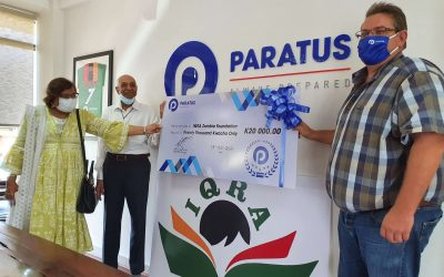Paratus Zambia calls other corporates to help unlimit happiness
